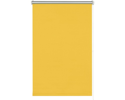 Store à clipser occultant sans perçage thermo jaune 45x150 cm avec support à clipser