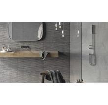 Carrelage décoratif en grès cérame fin Varana Marengo 32x62,5cm-thumb-1