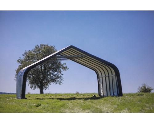 Tente ShelterLogic 49,6m² 680x730cm verte