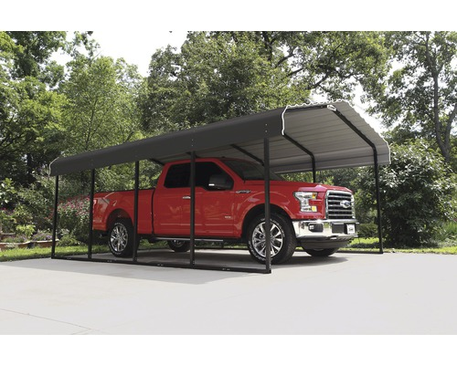 Carport simple ShelterLogic Rom 370x600cm anthracite