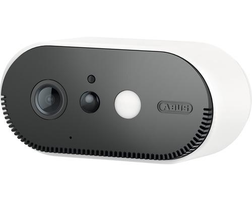 Caméra de surveillance sur batterie ABUS avec détecteur de mouvement PIR notification via App et station de base WiFi