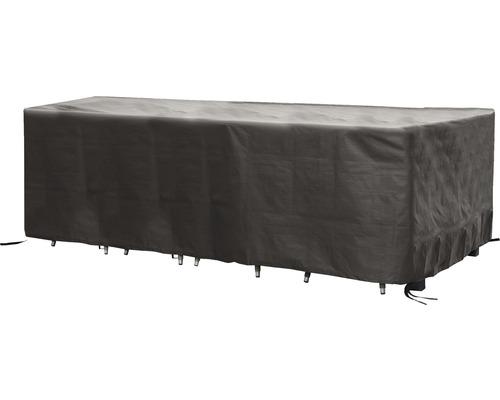 Housse de protection Pro Best pour salons de jardin 310x180H95cm gris