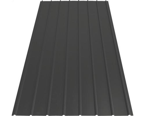Tôle trapézoïdale PRECIT H12 anthracite grey RAL 7016 4000 x 910 x 0,4 mm