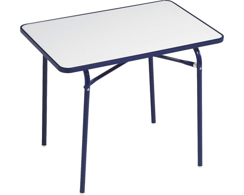 Table de camping enfant Best Camping 40x60 H49cm bleu