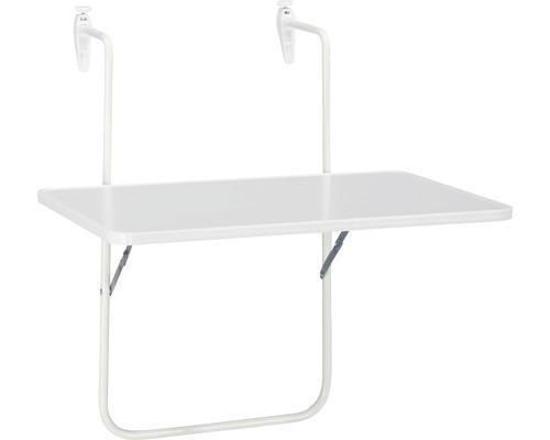 Table de balcon suspendue Best Boy 40x60 H5cm blanc
