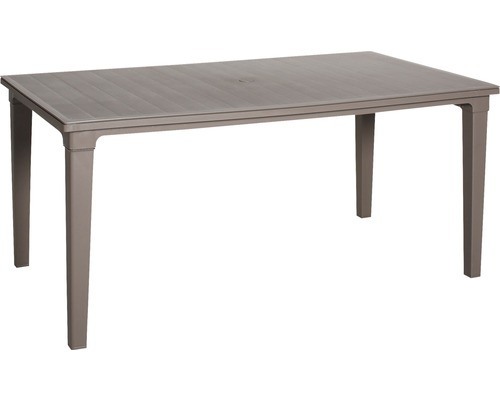 Table de jardin Best Genua 94x165 H74cm marron