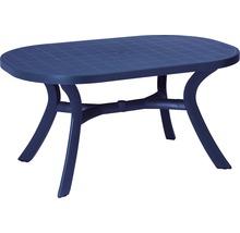 Table de jardin Best Kansas 95x145 H72cm bleu-thumb-0