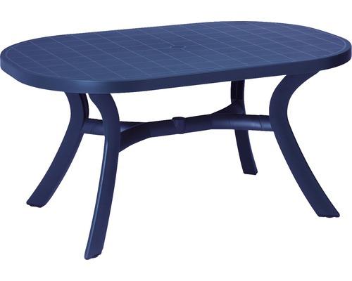 Table de jardin Best Kansas 95x145 H72cm bleu-0