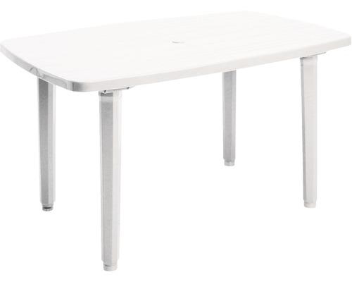 Table de jardin Best Festival 90x137 H72cm blanc