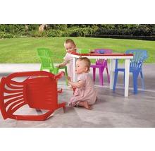 Table de jardinl enfant Best Aladino 45x60 H48cm blanc-thumb-1