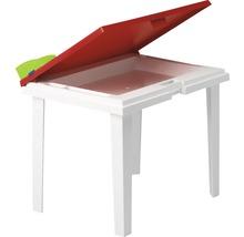Table de jardinl enfant Best Aladino 45x60 H48cm blanc-thumb-0