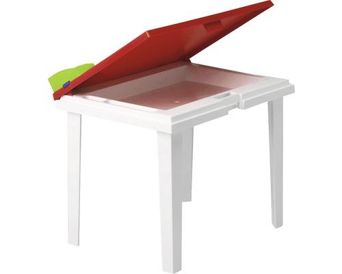 Table de jardinl enfant Best Aladino 45x60 H48cm blanc