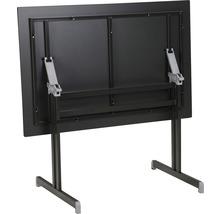 Table pliante Best Bodega 80x120 H74cm anthracite-thumb-1
