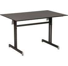Table pliante Best Bodega 80x120 H74cm anthracite-thumb-0
