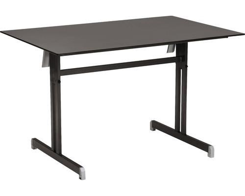 Table pliante Best Bodega 80x120 H74cm anthracite-0