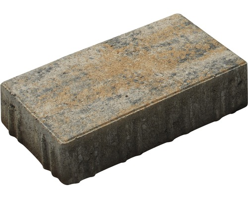 Pavé rectangulaire Flairstone Trend Luna calcaire coquillier 24 x 16 x 6 cm