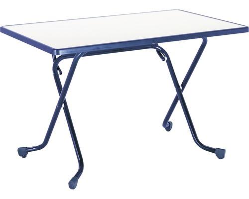 Table pliante Best 70x110 H70cm bleu