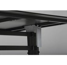 Table pliante Best Bodega 80x80H74cm anthracite-thumb-2