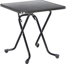Table pliante Best 67x67 H70cm anthracite-thumb-0