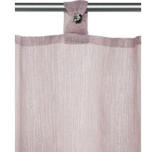 Brise-bise à passants rosé 48x150 cm-thumb-1