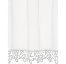 Brise-bise à passants blanc 75x150 cm-thumb-1