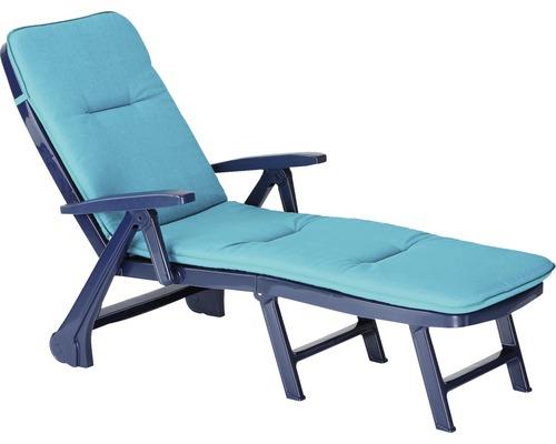 Rolliege Best Charleston blau inkl. Polsterauflage