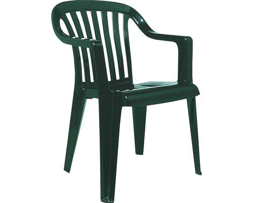Fauteuil empilable Best Memphis vert
