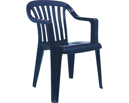 Fauteuil empilable Best Memphis bleu