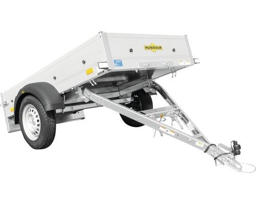 Humbaur Einachsanhänger Startrailer mit klappbarer Deichsel 2050 x 1095 x 300 mm ungebremst zul. Gesamtgewicht max.750 kg