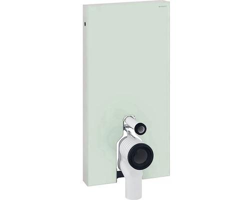 Bâti-support GEBERIT Monolith pour WC à poser 101 cm avec coude de raccordement P raccordement d''eau latéral menthe 131003SL5
