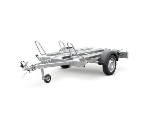 Humbaur Motorradanhänger Carry Moto Heavy 2095 x 1365 x 700 mm gebremst zul. Gesamtgewicht 1000 kg