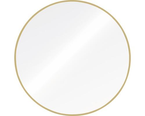 Spiegel Chicago Aluminium rund roségold Ø 60 cm