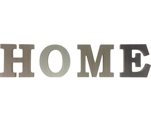 Inscription Home couleurs 37x10 cm