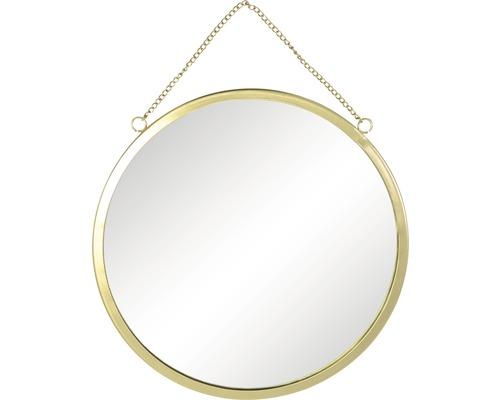 Spiegel rund gold Ø 29 cm