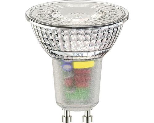 Réflecteur à LED FLAIR PAR16 GU10 5,5W(50W) à intensité lumineuse variable transparent 370 lm 3000 K blanc chaud