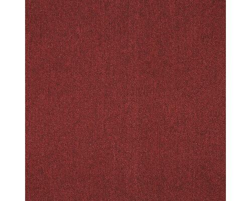 Dalle de moquette Diva rouge vin 50x50 cm