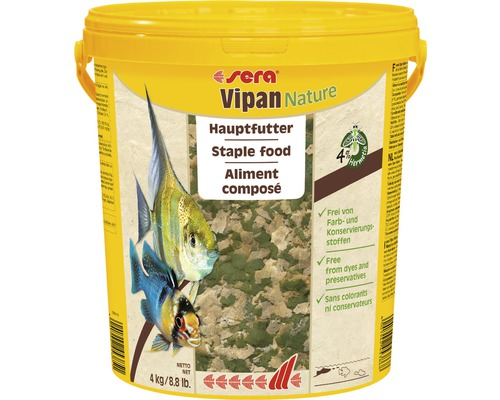 Hauptfutter sera Vipan Nature GF 4 kg