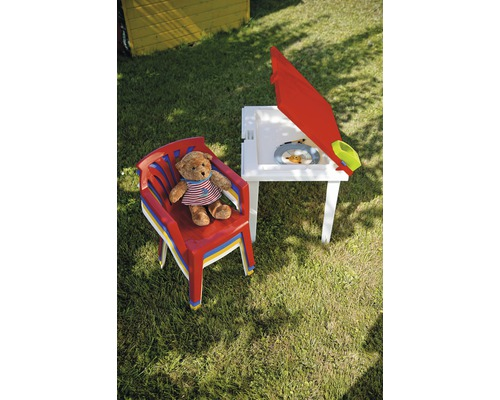 Salon de jardin pour enfants Best Ariel 5 places multicolore