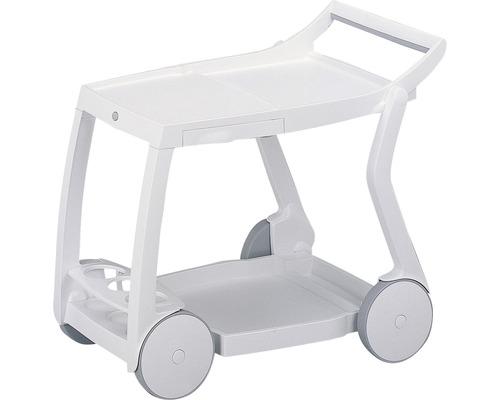 Chariot de desserte Best Galileo 60x84 H76cm blanc