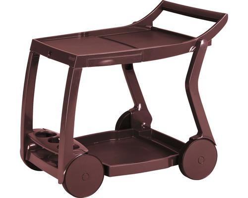 Chariot de desserte Best Galileo 60x84 H76cm rouge