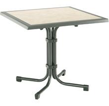 Table de jardin Best Boulevard 80x80 H72cm anthracite-thumb-0