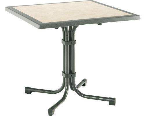 Table de jardin Best Boulevard 80x80 H72cm anthracite-0