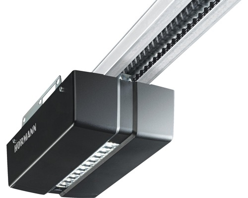 Motorisation de porte de garage Hörmann ProMatic série 4 BiSecur sans rail de guidage avec émetteur portatif 4 touches HSE 4 BS