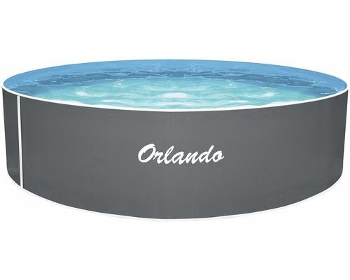 Piscine hors sol à paroi en acier Marimex Orlando Ø 366 cm H 107 cm sans accessoires gris