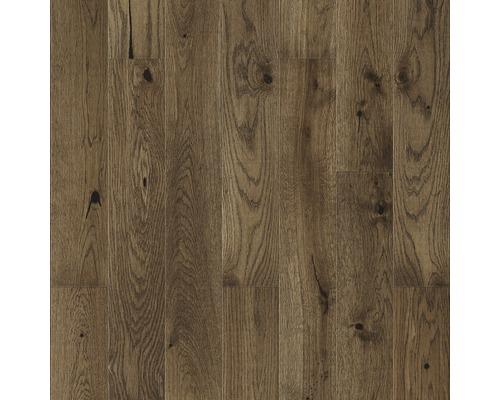 Parquet 14.0 chêne brun plancher de maison de campagne naturellement huilé et brossé
