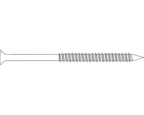 Vis 5x80 mm acier inoxydable 50 pièces pour série de clôture Osmo Forsdal