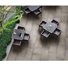 Flairstone Feinsteinzeug Terrassenplatte Loft Greige 120 x 60 x 2 cm rektifizierte Kante-thumb-1