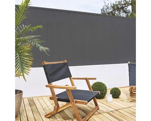 Sichtschutzmatte CATRAL PVC (Meterware) 180 cm anthrazit