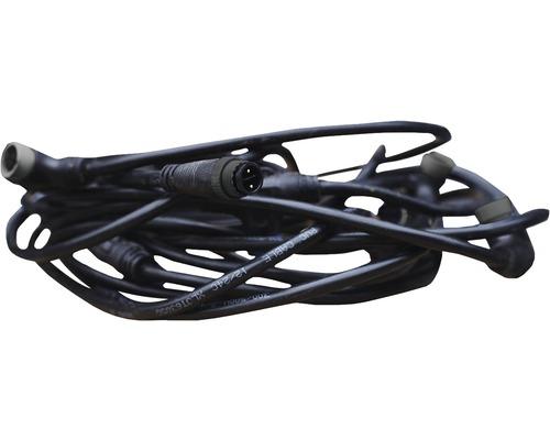 Faisceau de câbles pour pavés lumineux Lucem avec câble de raccordement 10 mètres et 10 raccordements