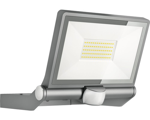 Projecteur à fixer à détection LED Steinel 43,5W 4400 lm 3000 K blanc chaud Hxl 215x259 mm XLED ONE XL anthracite